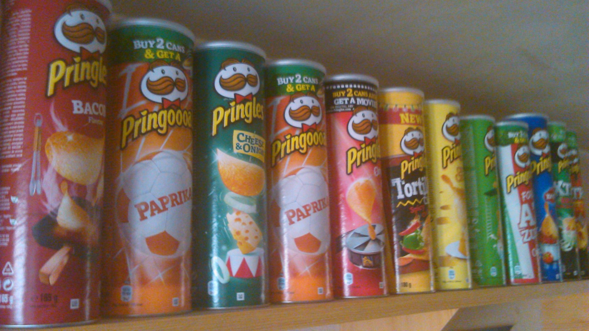 Object of Memory: Pringles Can